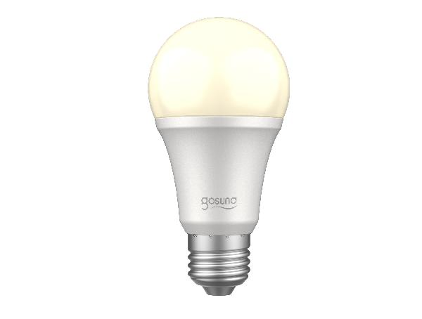 Gosund WB2 smart lamp 230V, 8W (75W eq.), 800lm, E26, Warm wit (2700K), dimbaar, Alexa and Google Home compatible