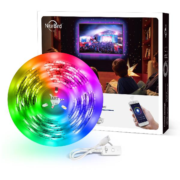 Gosund SL1 Nitebird 2.8 meter LED RGB smart strip, Alexa and Google Home compatible