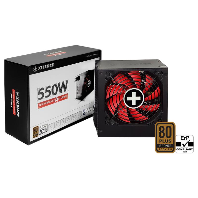 XILENCE Performance A+ III , 550 Watt, Semi-Modular // XP550MR11