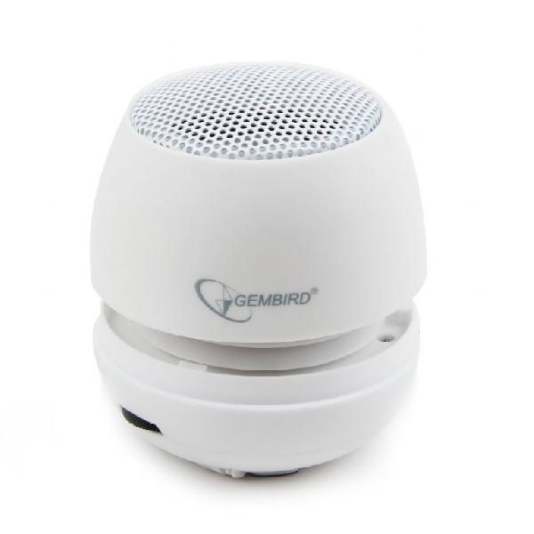 Gembird Draagbare Mini Speaker -wit-