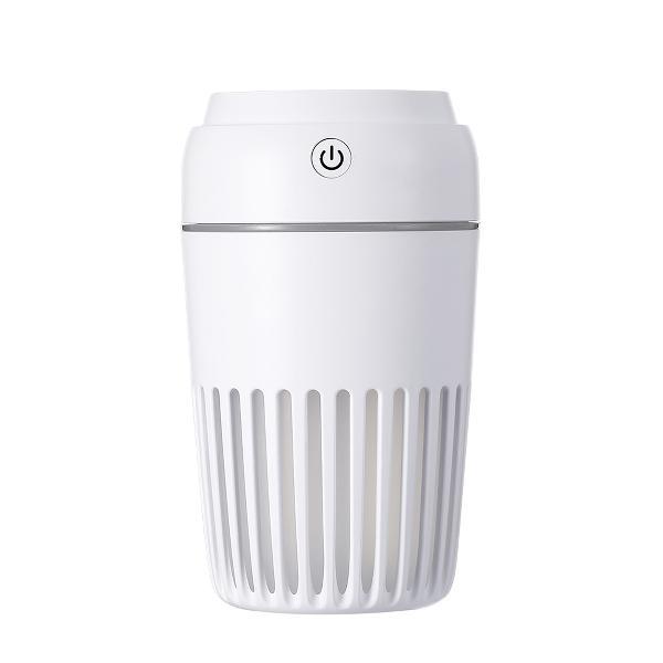 Platinet - Misty - lucht bevochtiger 300ml, LED lamp, timer, werkt ook met geur olie