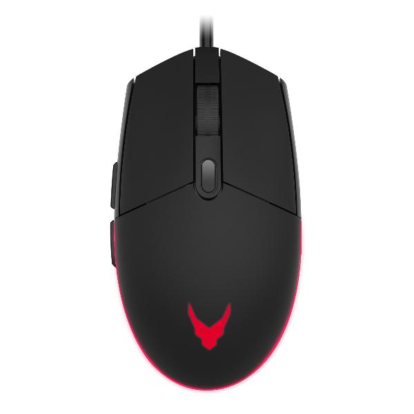 Varr Gaming set 7 color LED Mouse 1000, 1600, 2400, 3200 dpi instelbaar, inch muismat 295 x 210 x 2 mm