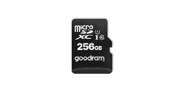 GOODRAM MicroSD M1AA (SecureDigital) 256GB SDXC Class 10, UHS-I + adapter