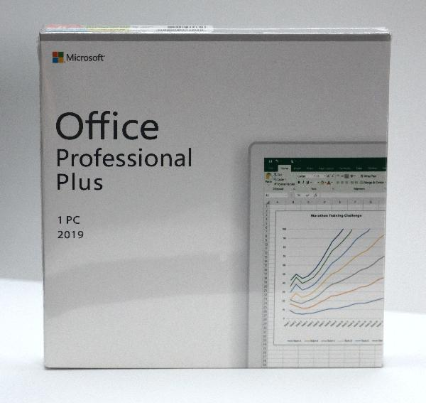 Microsoft Office Professional Plus 2019 , BOX, 1 licensecard, 1 User (Word, Excel, Powerpoint, OneNote, Outlook, Publisher, Acces, Skype for Business) 3 jaar activatie support