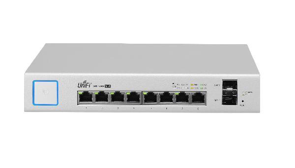 UbiQuiti UniFi US-8-150W POE M switch, 8 poorts managed switch