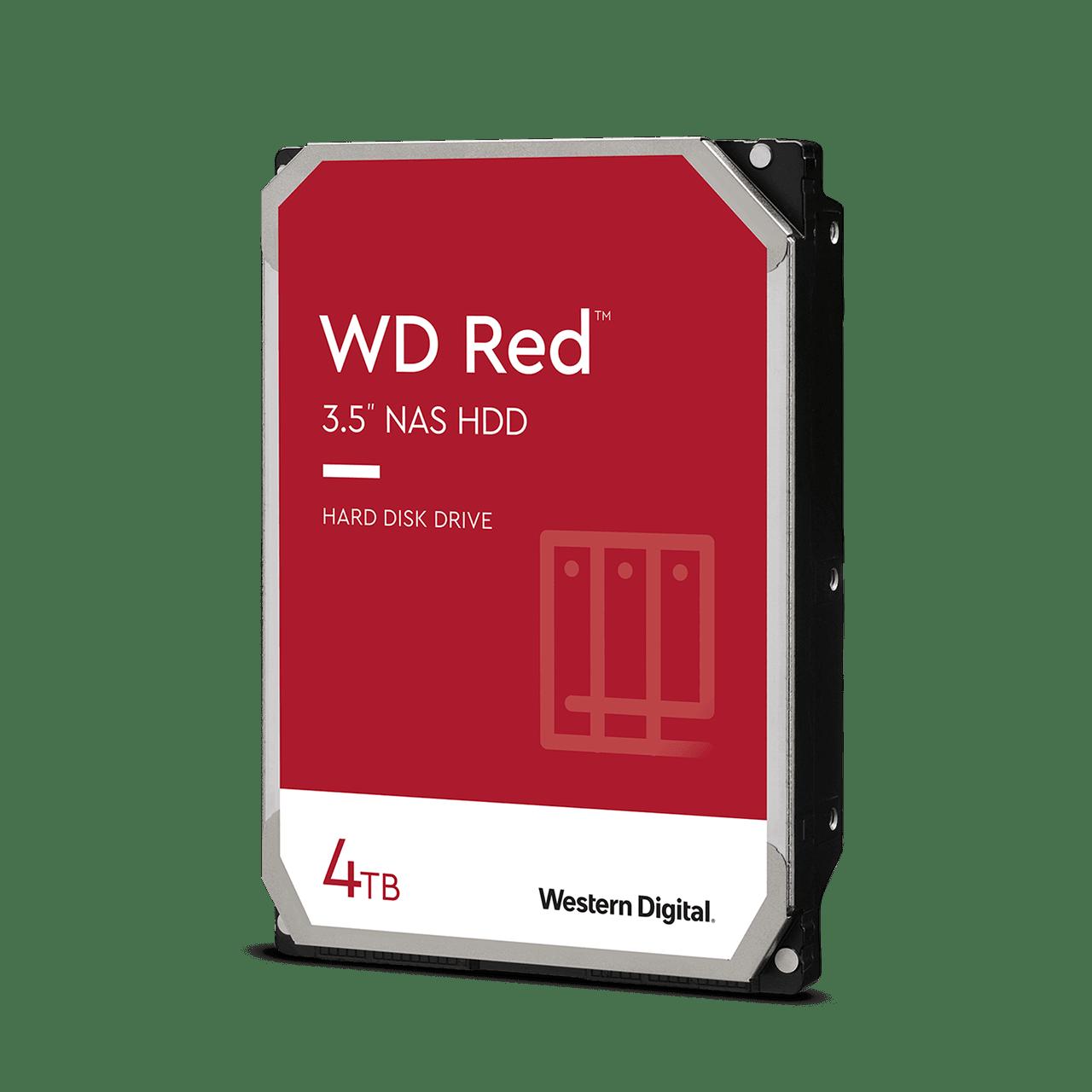 Western Digital Red Pro 4 TB, 3,5 inch SATA HDD, 256 mb Cache, CMR