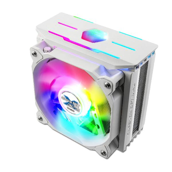 Zalman CNPS10X OPTIMAII, WHITE 120mm RGB PWM Fan / RGB Spectrum1,350 -2,100RPM uPWM / 18 -28.0dBA, Intel LGA 2066, 2011-V3 115x, 1200, 1366, AMD AM4, AM3+, AM3,, FM2+, FM2