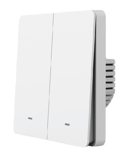 Gosund Flip V dubbele smart inbouw schakelaar 230V, Tuya Platform, Alexa and Google Home compatible