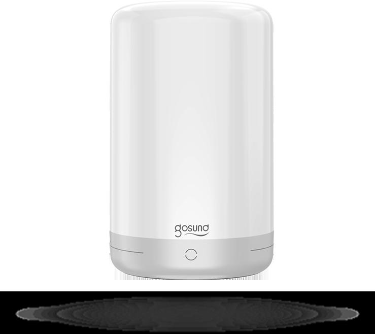 Gosund LB3 smart tafel/bed lamp 5V, 2A USB (inc voeding en kabel) touch bediening: kleure en lichtsterkte, Alexa and Google Home compatible