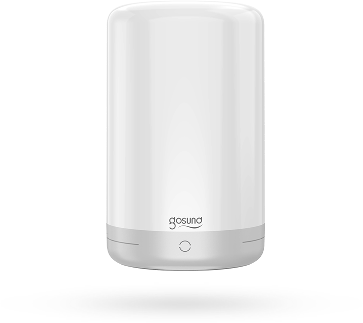 Gosund LB3 smart tafel/bed lamp 5V, 2A USB (inc voeding en kabel) touch bediening: kleure en lichtsterkte, Tuya Platform, Alexa and Google Home compatible