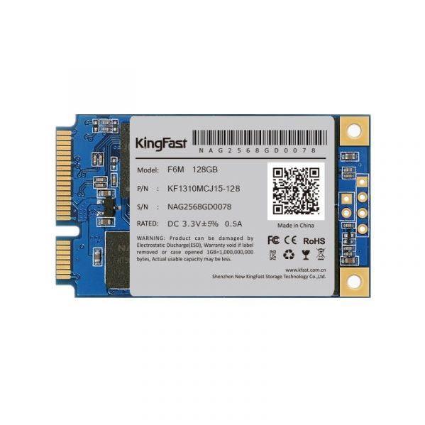 256GB mSATA Kingfast F6M TLC/550/450 Bulk