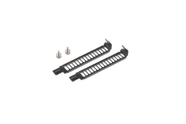 Akasa Steel Vented Full profile PCI Slot Cover Bracket with thumbscrew, Pack of 2