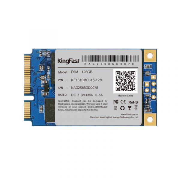 Kingfast F6M 128GB mSATA TLC/550/450 Bulk