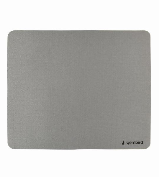 Gembird muismat - grijs - SBR rubber onderzijde / 220x180 mm