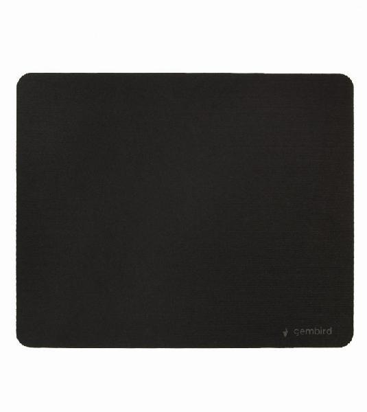 Gembird muismat - zwart - SBR rubber onderzijde / 220x180 mm