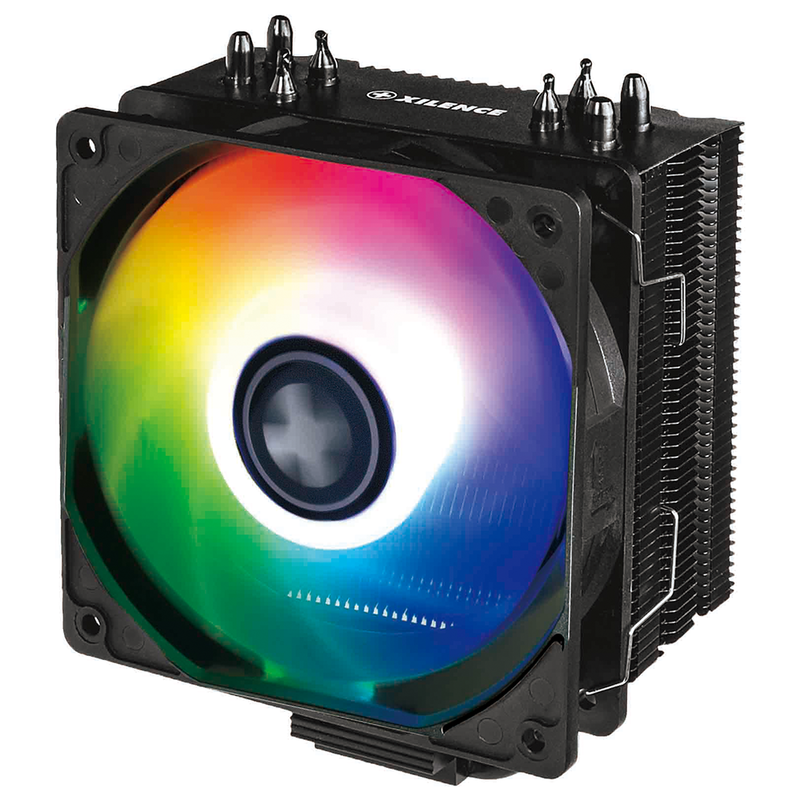 Xilence Performance A+ CPU Cooler 4 Heatpipes, 120 mm ARGB fan