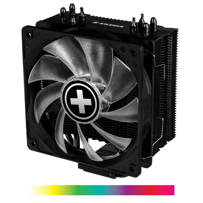Xilence Performance A+ CPU cooler 4 Heatpipes, 120 mm RGB fan