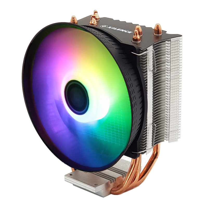 XILENCE Performance C CPU-Cooler 3HP Universal (Intel/AMD) ARGB 120 mm fan