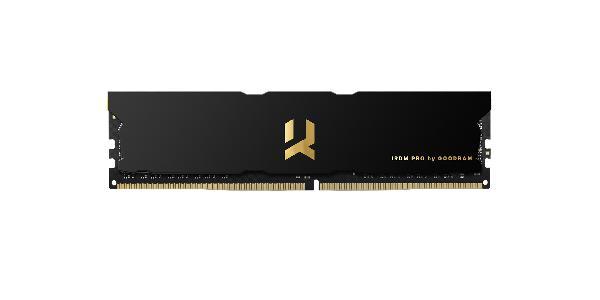 Goodram IRDM PRO DDR4 DIMM, 8GB, PC4-32000 (4000MHz) 18-22-22 PITCH BLACK 1,4V, SR