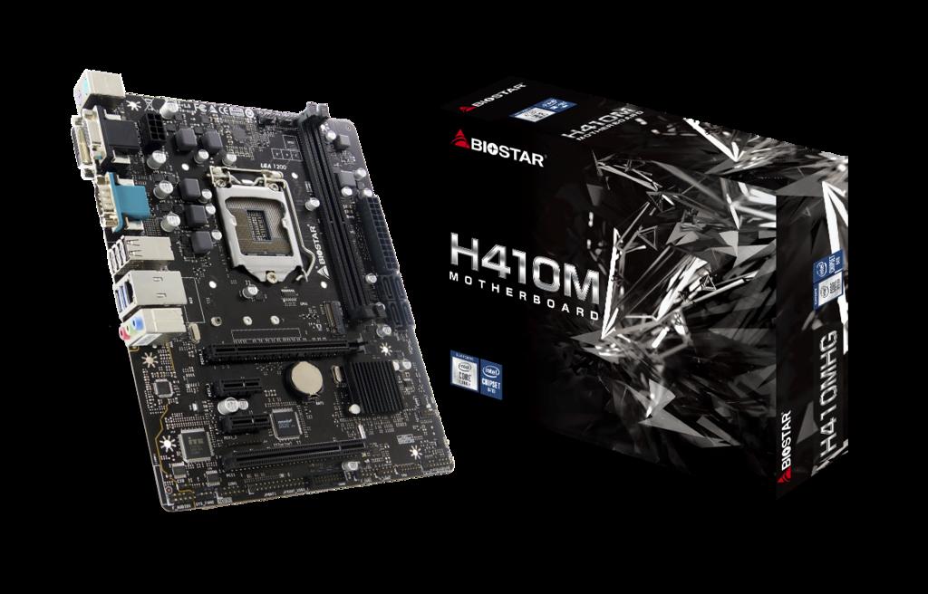 Biostar H410MHG moederbord Intel H410 LGA 1200 micro ATX