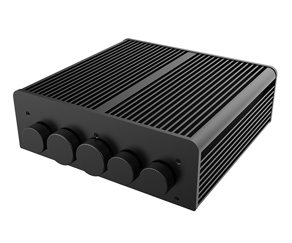 Akasa Pascal PX, IP65 aluminium Waterproof NUC chassis for Provo Canyon, up to Core i7