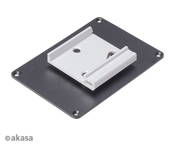 Akasa Din Rail bracket for Raspberry Pi case