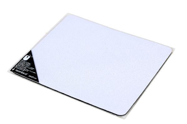 Gembird bedrukbare muismat (maat M: 350 x 250 mm, 3mm dik), wit