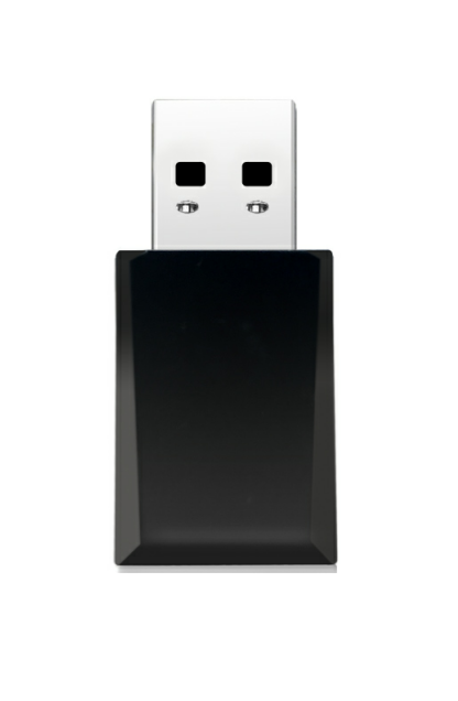 Gembird Compact dual-band AC1300 USB Wi-Fi adapter - Maximum speed up to 867 Mbps on 5 GHz or 400 Mbps on 2.4 GHz
