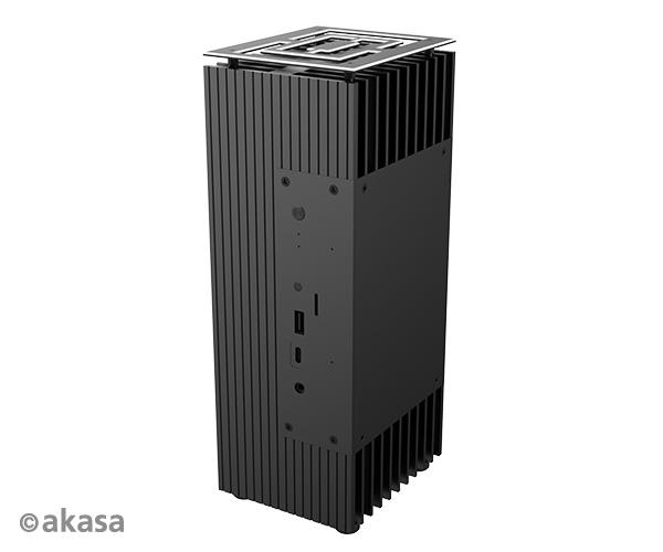 Akasa Turing A50, Compact fanless case for ASUS Mini PC PN50 (4000 series up to Ryzen 7) & Radeon Vega 7 Graphics