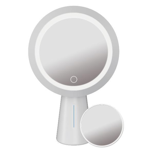 Platinet spiegel lamp LED 3W touch sensor, 1200 MAH met vergrotings functie