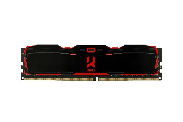 GOODRAM IRDM-X DDR4 DIMM 16GB 3200MHz CL16 (16-20-20), 1.20 - 1.35 V, Black heatspreader with red logo