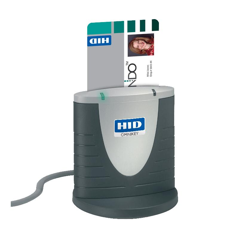 HID Identity OMNIKEY 3121 smart card reader tbv UZI-pas