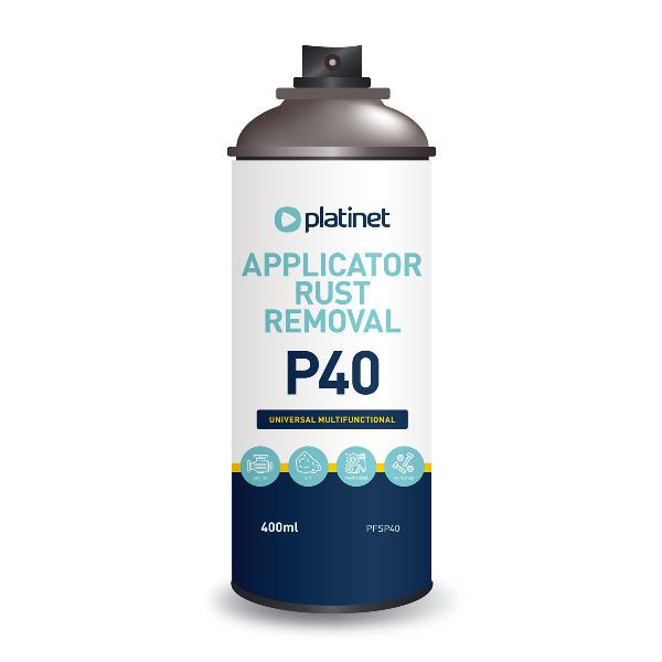Platinet P40 rust remover, cleaner, corrosion protection, 400 ml spuitbus
