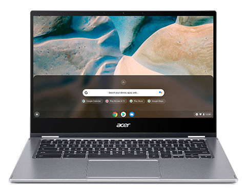 Acer Chromebook Enterprise Spin 514, CP514-1WH-R30X, Steel Grey, 14inch FHD Multi-Touch IPS, AMD Ryzen 5 3500C, 8GB DDR4, 128GB PCIe NVMe SSD, Backlit US Int. Keyboard Chrome OS with Chrome Enterprise