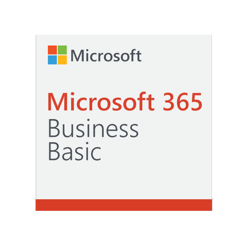 Microsoft 365 Business Basic, 1 year subscription (Mail and Teams, only webapps, no desktop apps)