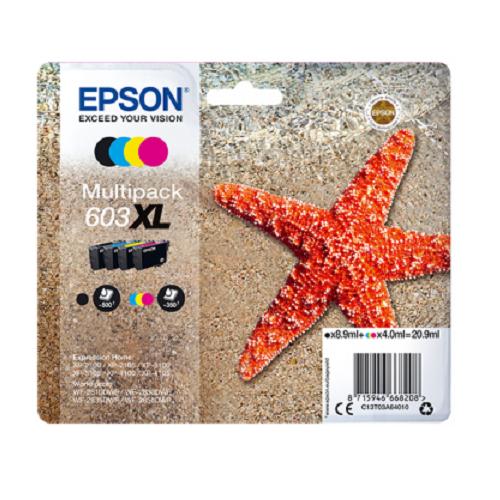 Epson 603XL Multipack Z/C/M/G 20,9ml (Origineel)