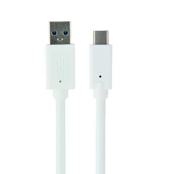 Gembird USB3.0 kabel AM-CM wit 3 meter, 600MB/s, charging 3A (36W), *USBAM *USBCM