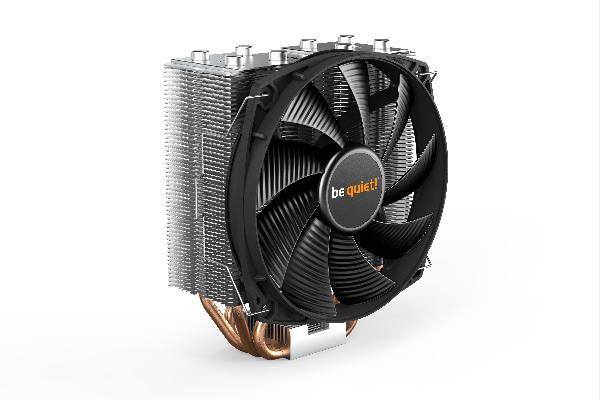 be quiet! Shadow Rock Slim 2, 160W TDP, Intel: 1200 / 115X / 2066 / 2011 (-3) AMD: AM4 / AM3(+)