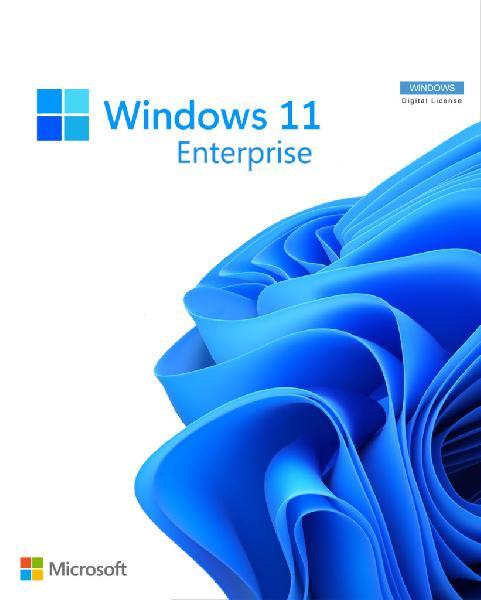 Microsoft Windows 11 Enterprise ESD editie, pre-owned (Digitale Licentie), activeren binnen 1 maand